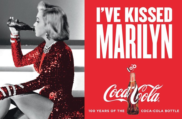 "Coca-Cola campaign ""I've kissed..."""